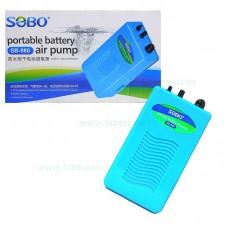 Pompa aer acvariu cu baterie SOBO SB-980 2L/min