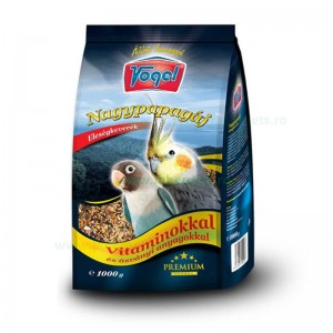 Hrana pentru Papagal Mare cu vitamine 1000 gr - PREMIUM