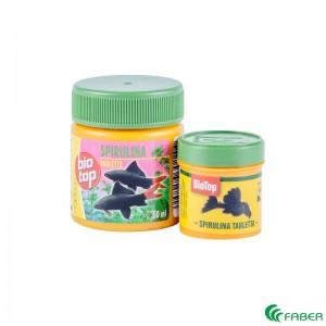 Tablete SPIRULINA pentru pesti exotici, 55 gr 5/set