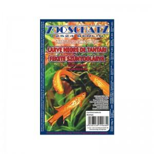 Larve negre de tantari cu vitamine congelata 100 gr 6/set