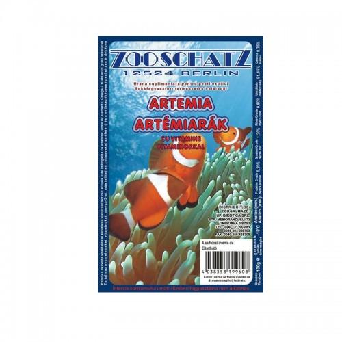 Artemia rosu intens congelata 100gr 6/set