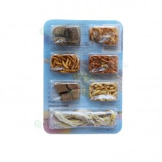 MENIU SAPTAMANAL pentru broscute, 10 g 10/set