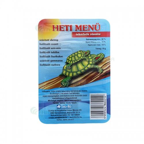 MENIU SAPTAMANAL pentru broscute, 10 g