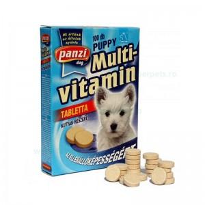 Tablete multivitamine cu calciu pentru caini junior