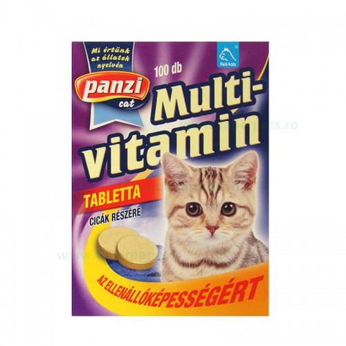 Tablete cu multivitamine pentru pisici 10/set