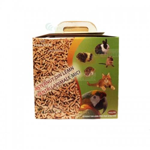 Asternut din lemn pentru animale mici 2x2.5 kg