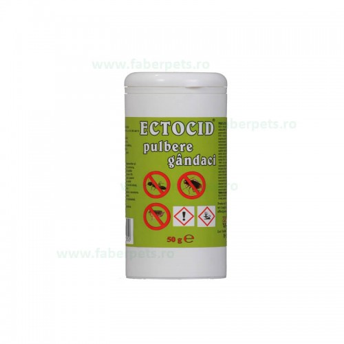 Ectocid pulbere gandaci 50 gr
