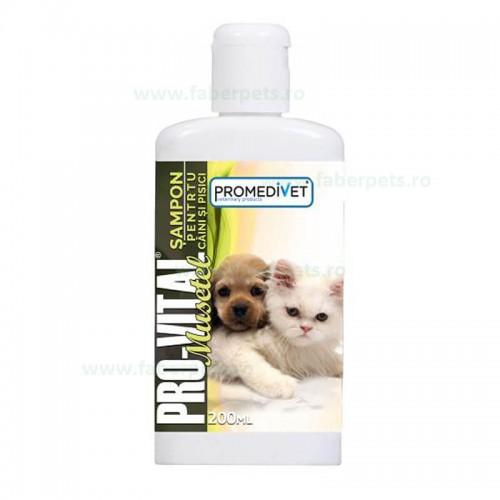 Sampon PRO-VITAL cu musetel pentru caini si pisici 200 ml