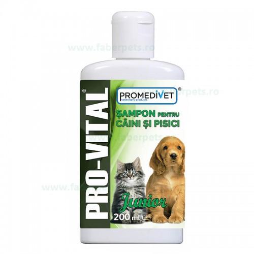 Sampon PRO-VITAL JUNIOR pentru caini si pisici 200 ml