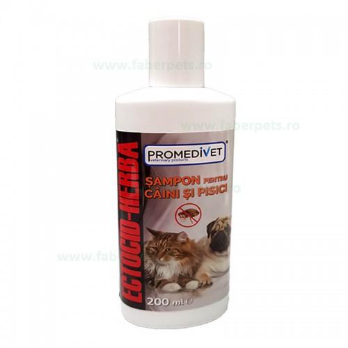 Sampon ECTOCID-HERBA antiparazitar pentru caini-pisici 200 ml