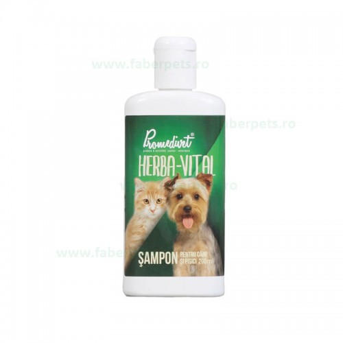 Sampon Herba-Vital pentru caini si pisici 200 ml