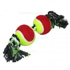 Aport funie innodate cu mingi tenisi 32 cm