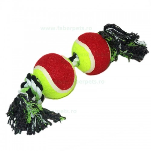 Aport funie innodata cu mingi tenisi 32 cm