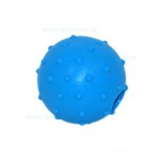 Jucarie minge cu tepi si gaura 6,5 cm