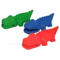 Jucarie crocodil cu sunet 14 cm
