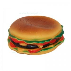 Jucarie hamburger cu sunet 15 cm