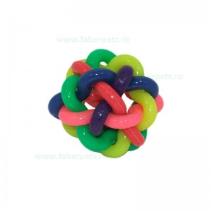 Minge impletita multicolora 7,5 cm