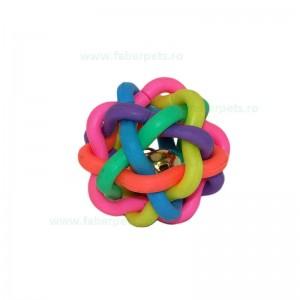 Minge impletita multicolora 6,5 cm