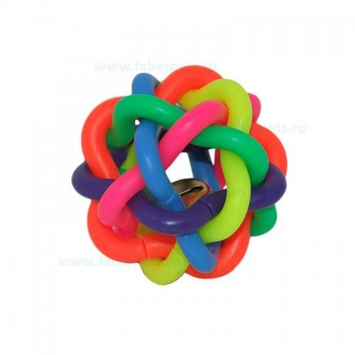 Minge impletita multicolora 10 cm