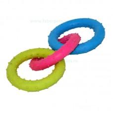 Jucarie inel cauciuc cerc 8 cm