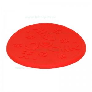 Jucarie caini disc cauciuc Frisbee 20 cm