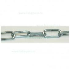 Lant curte cu inel si carabina 5 mm x 500 cm