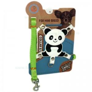 Lesa chinga cu ham ornamentat cu animalute panda 1*120 cm
