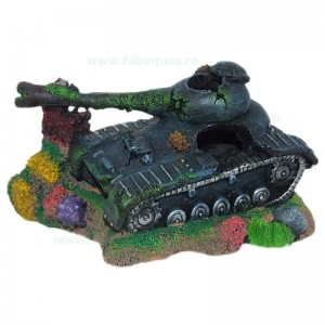 Ornament acvariu tanc mare epava 21 cm