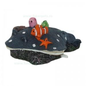 Ornament acvariu pisica de mare clampanit 13 cm