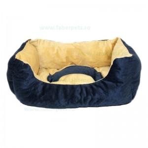 Culcus - patut moale catifelata 102 cm XXL