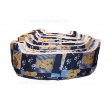 Patut textil oval imblanit 34-70 cm 10/set